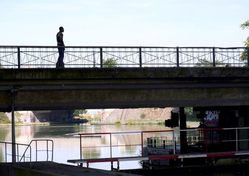 Sur le pont - Écluse