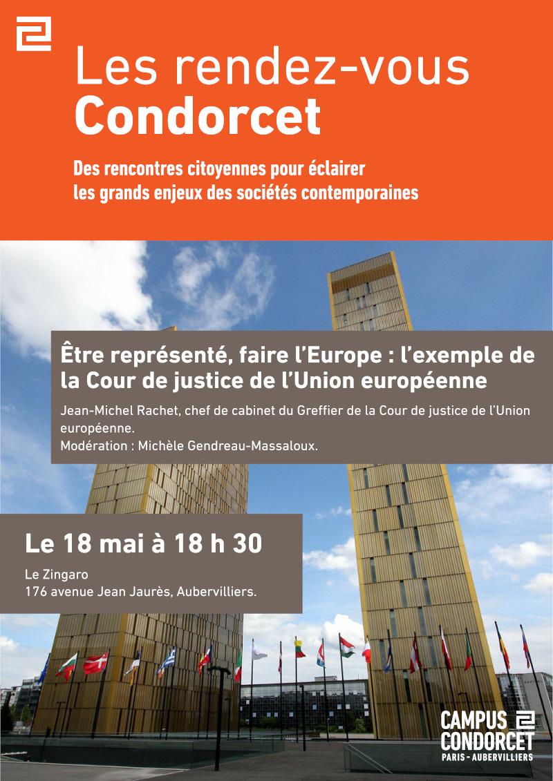 Être représenté, faire l'Europe : l'exemple de la Cour de justice de l'Union européenne, Jean-Michel Rachet