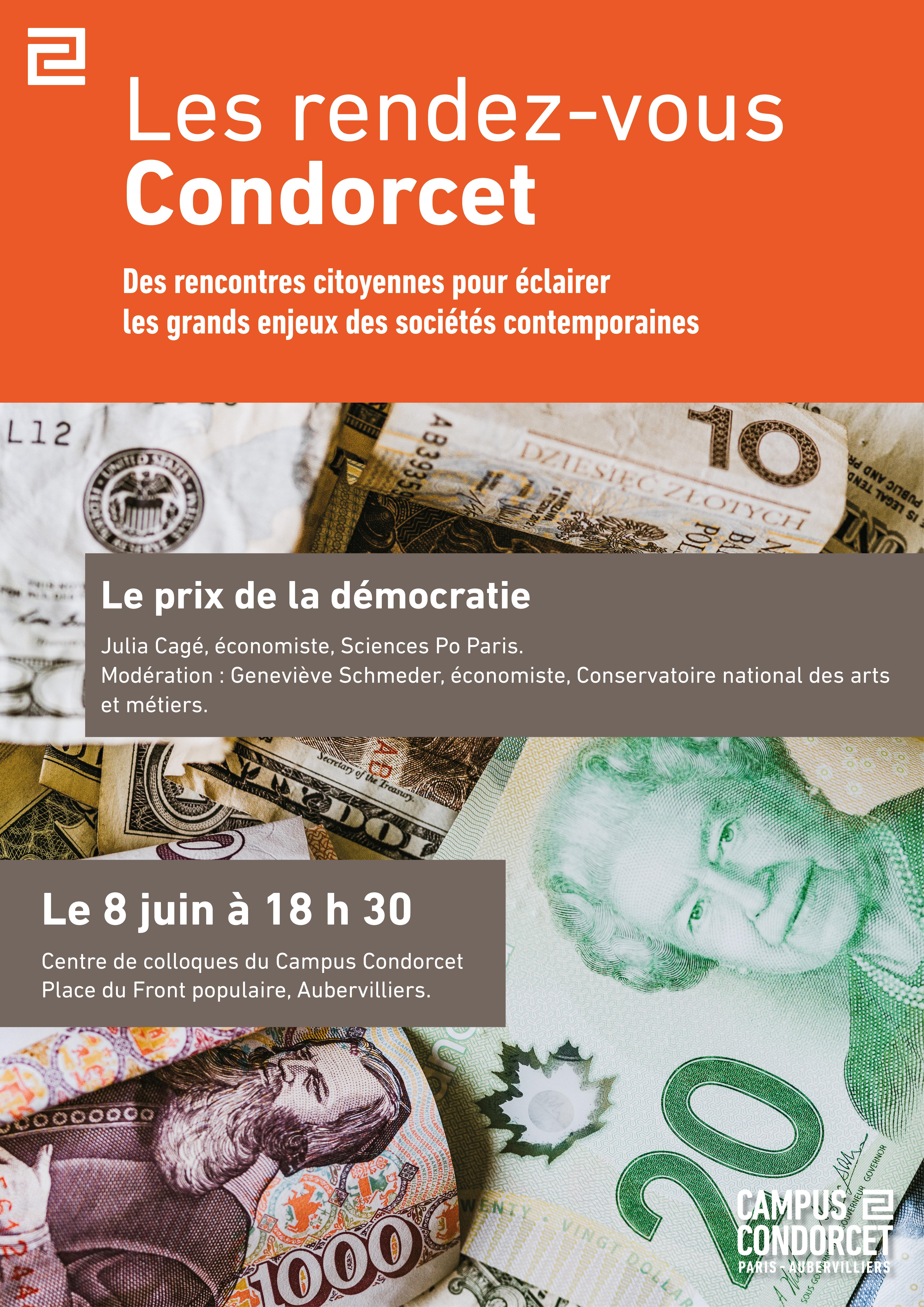 Le prix de la démocratie, Julia Cagé, économiste