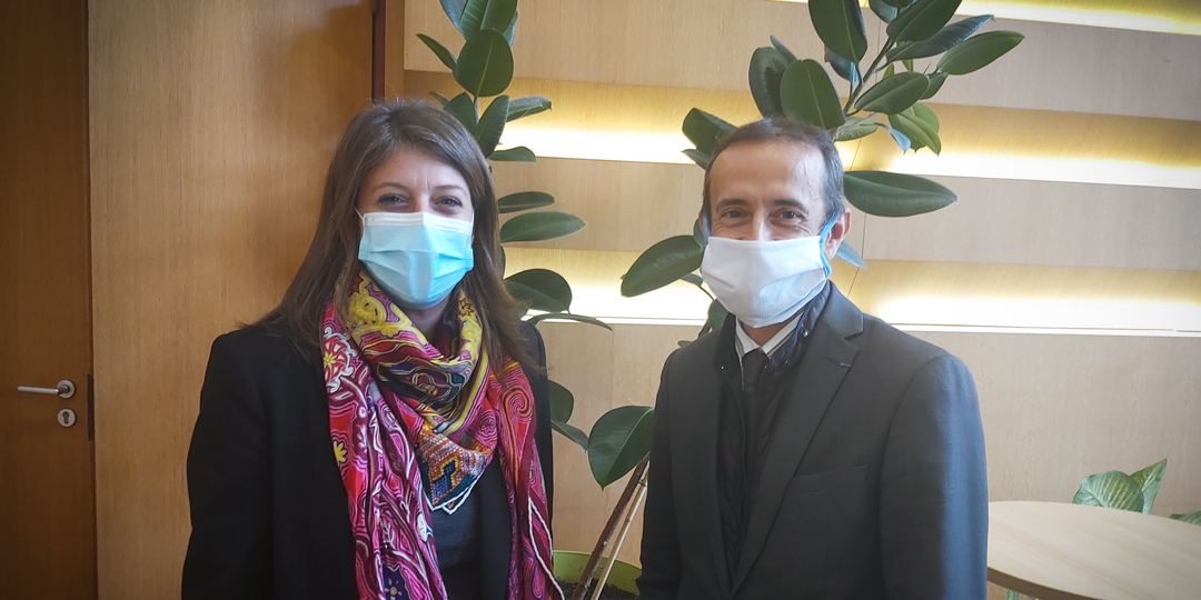 Jean-François Balaudé et Karine Franclet