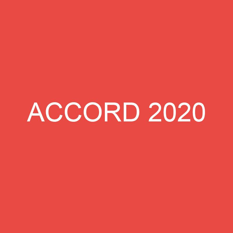 Séminaire ACCORD 2020