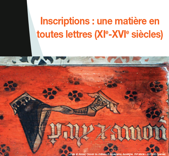 Affiche colloque Paris 3 Taille de pierre
