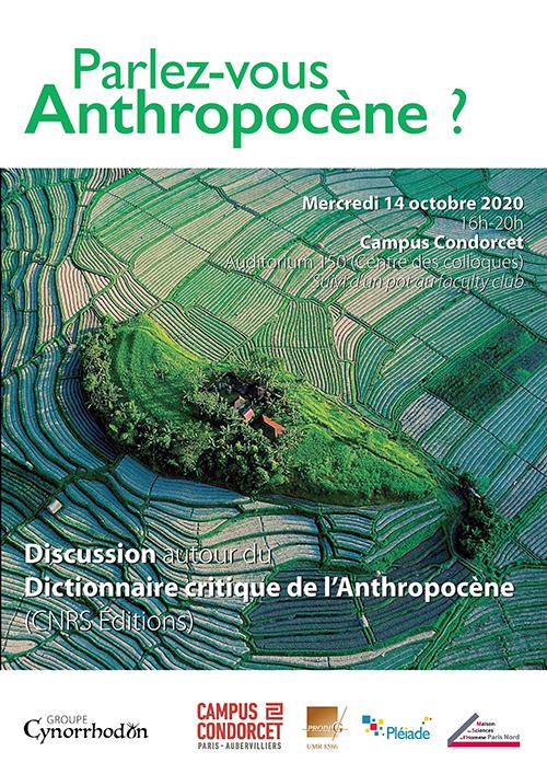 Affiche de Parlez-vous Anthropocène