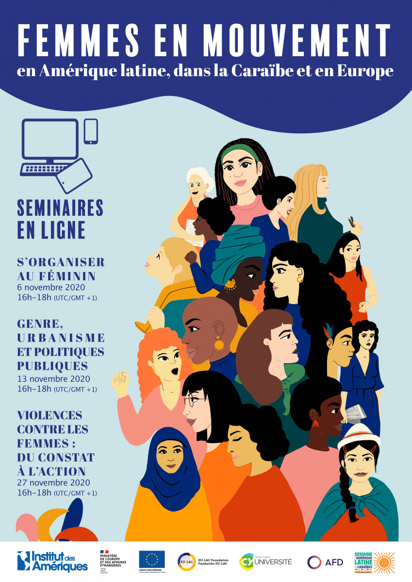 Séminaires - Femmes en mouvement en Amérique latine, dans la caraïbe et en Europe