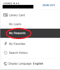 My requests