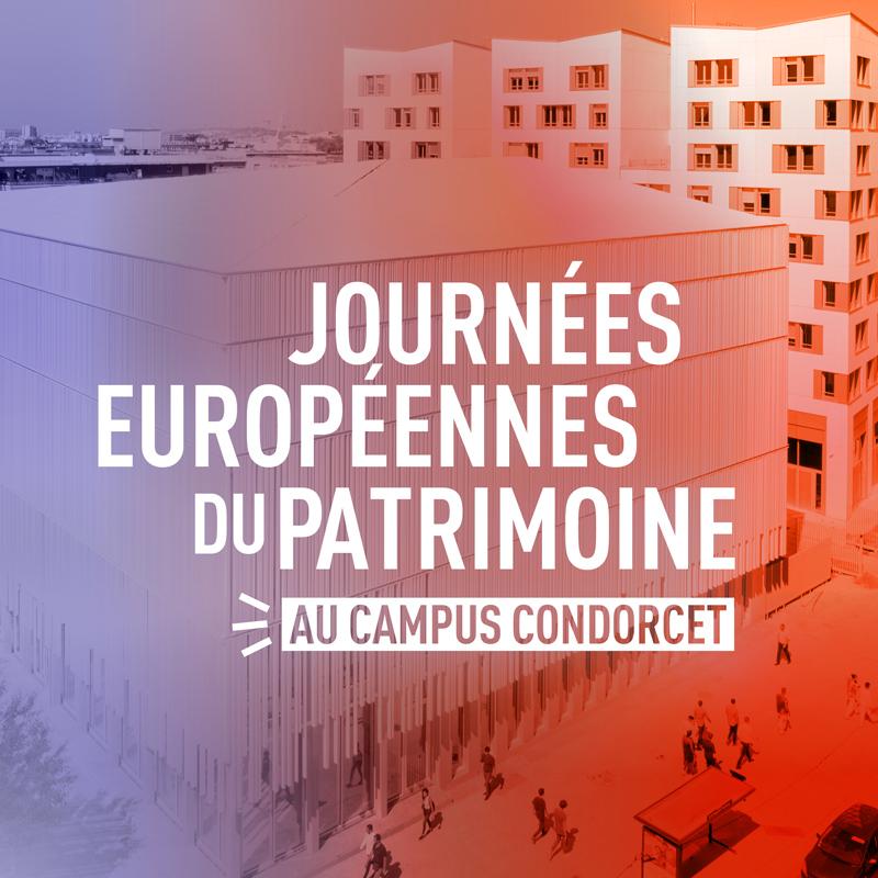 Journée européenne du patrimoine (JEP) au Campus Condorcet