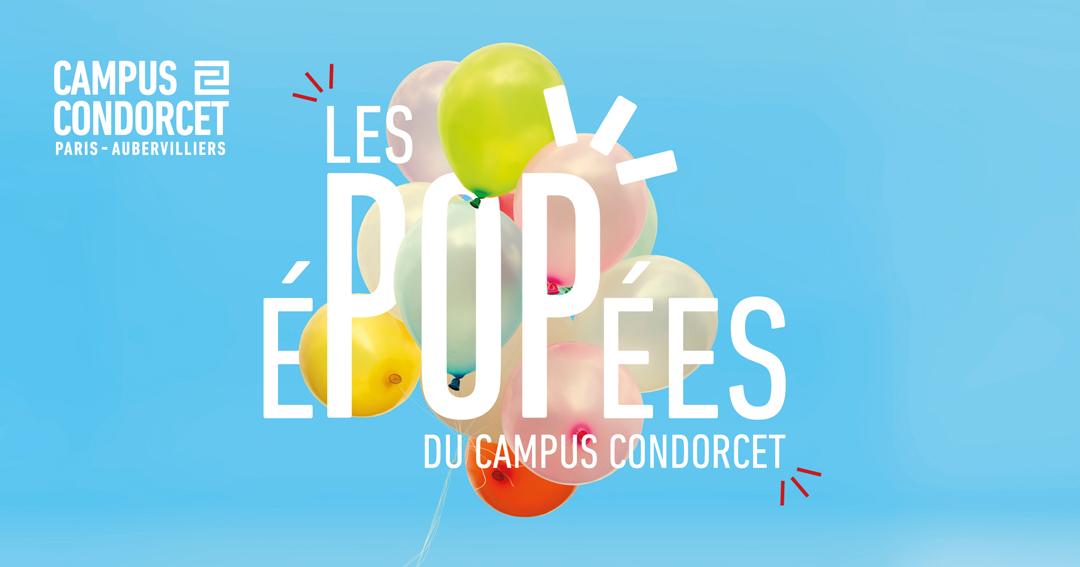 Bandeau Les éPOPées du Campus Condorcet