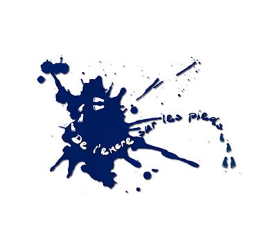 Logo - Cie de l'encre sur les pieds