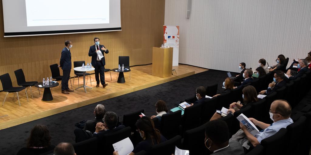 Mots d'ouverture de Jean-François Balaudé et Georges-François Leclerc lors de la réunion des élus de Seine-Saint-Denis