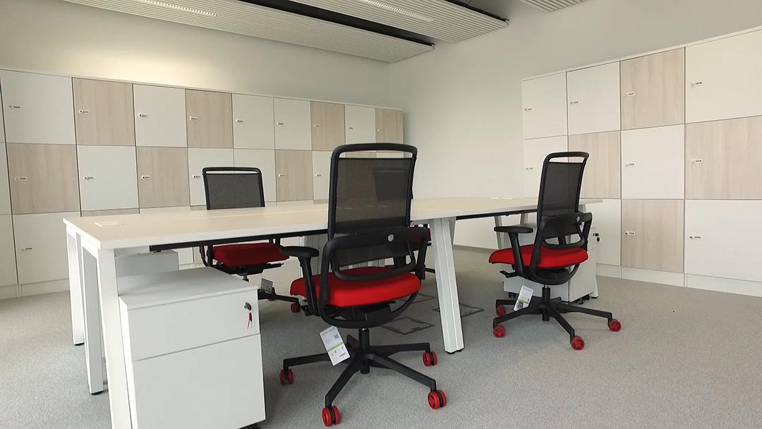 Bureaux partagés de l'Hôtel à projets du Campus Condorcet