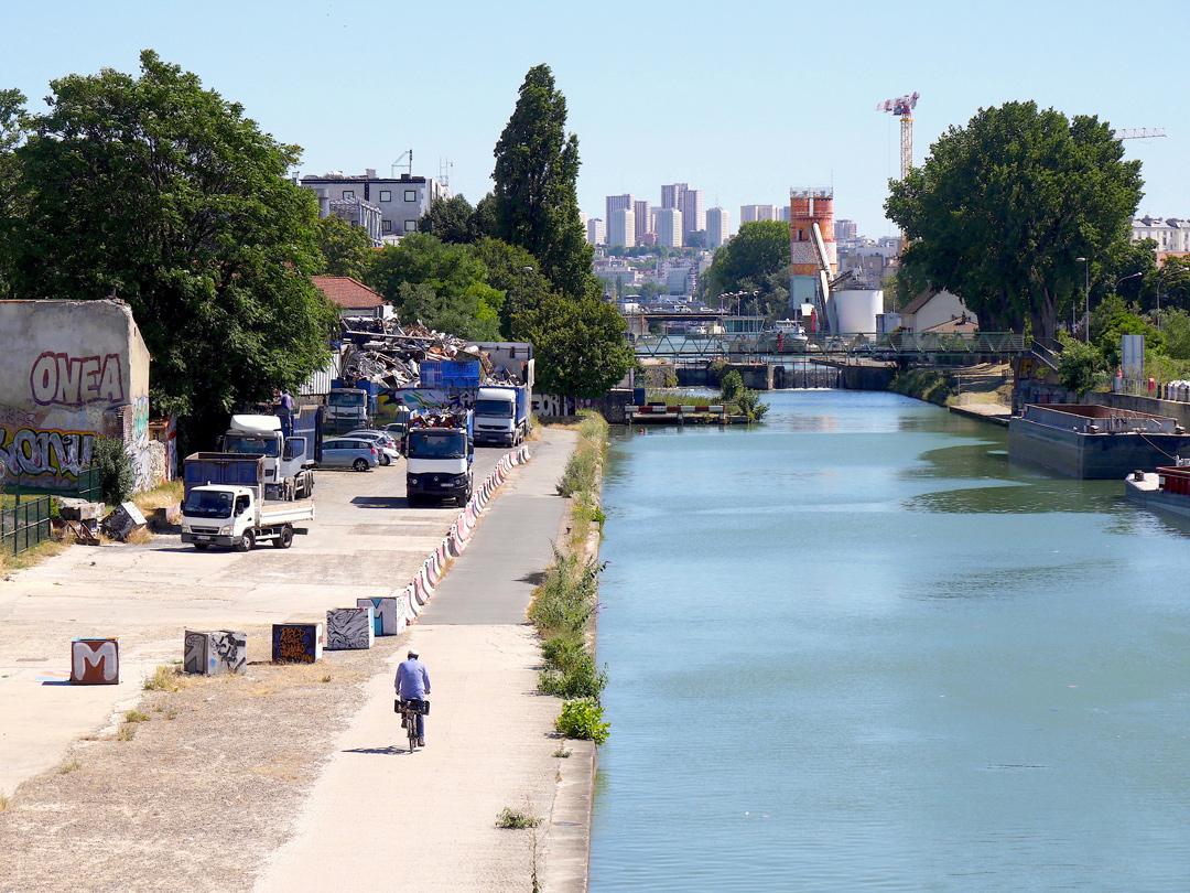 Canal Saint-Denis - La bascule d'un paysage - Sophie Comtet Kouyaté