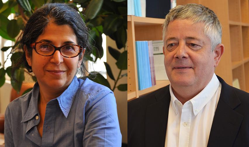 Portrait de Fariba Adelkhah et Roland Marchal, emprisonnés en Iran