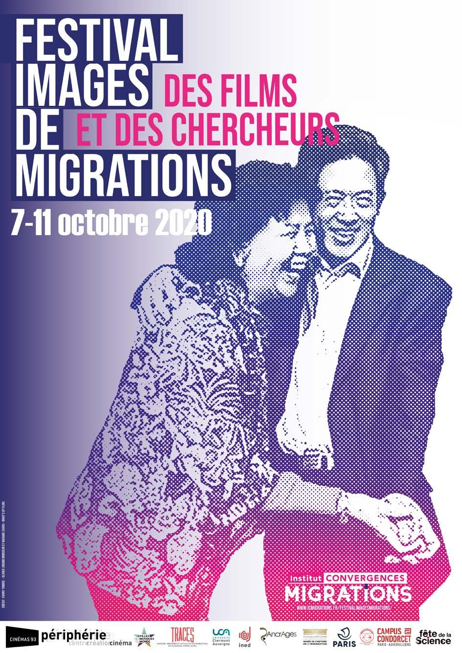 Affiche du Festival Images et migrations