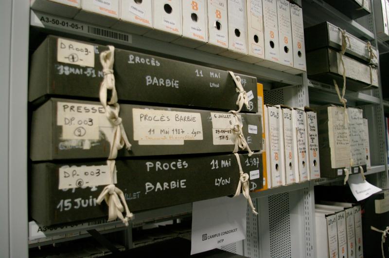 Les archives de l'IHTP au CTLes