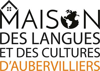 Logo Maison des langues et des cultures d'Aubervilliers