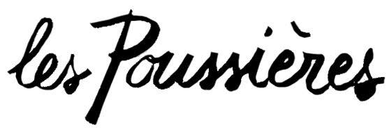 Logo de l'association Les poussières
