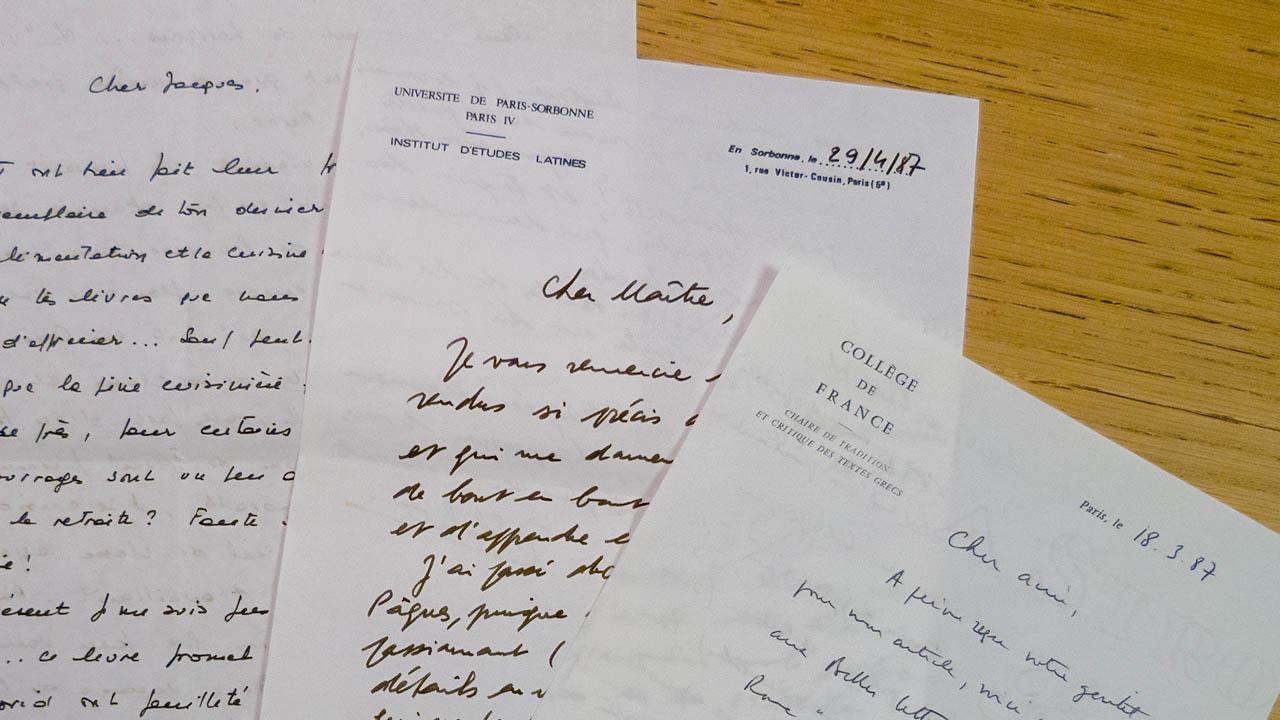 Fonds d'archives Jacques André de l'EPHE
