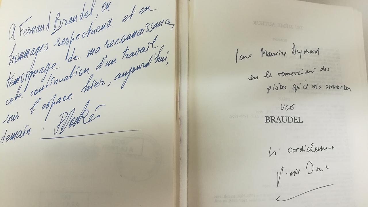 Marché catalographique  Fonds Fernand Braudel (FMSH)