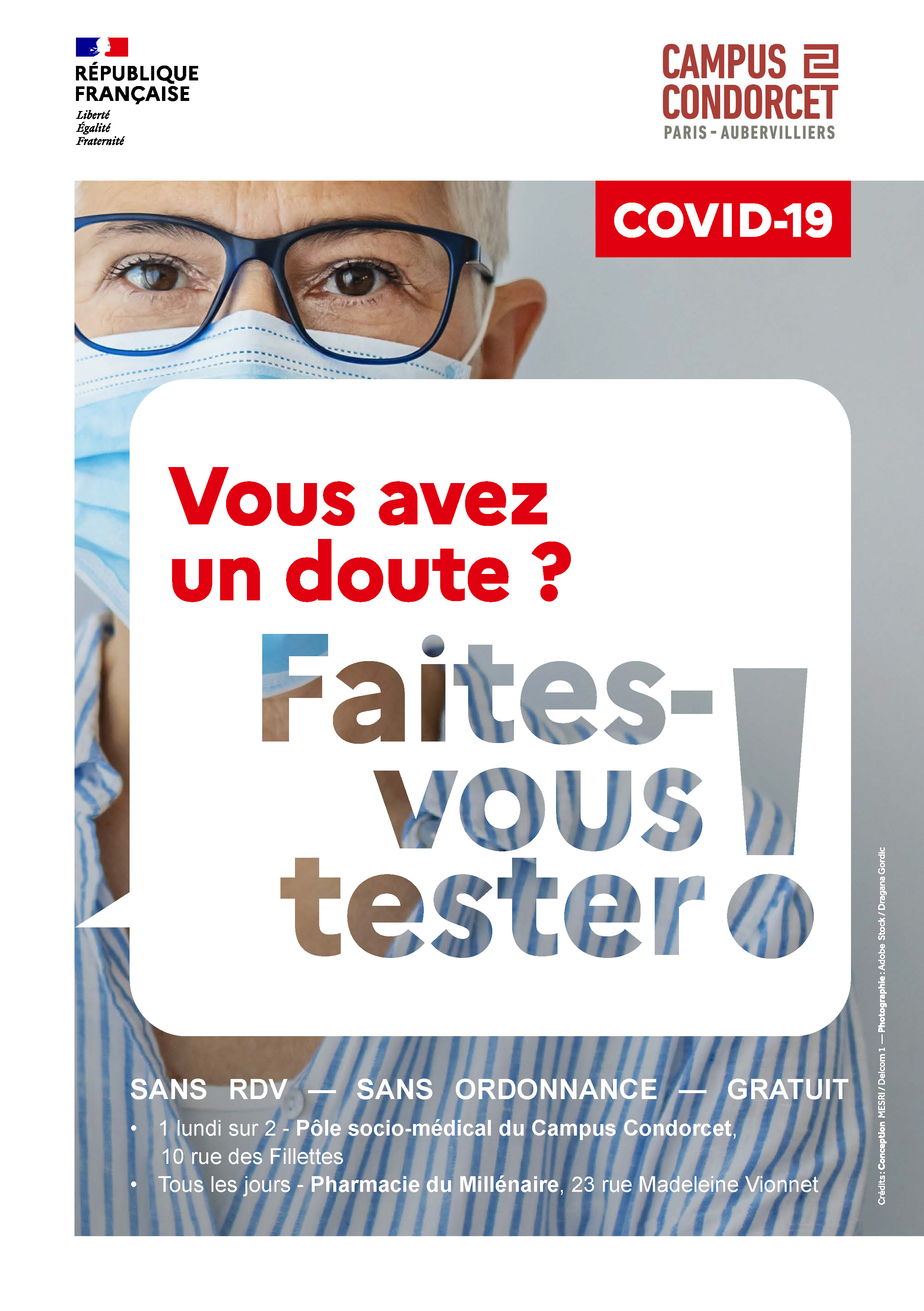 Affiche Campagne Faites-vous tester
